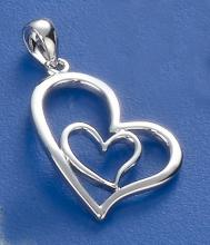 Heart Shape Pendant P1825