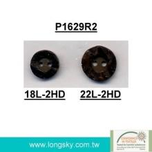 Rod Polyester Resin Button for garments (P1629R2)