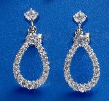 CZ Elegant Earrings