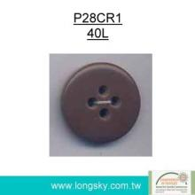 (#P28CR1) Fancy large plastic button for clothes